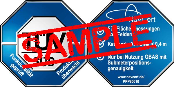 navcert pruefzeichen ppp80010
