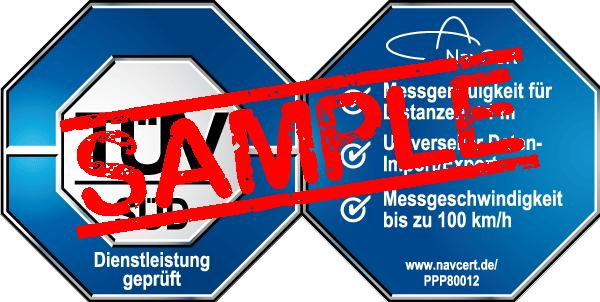 navcert pruefzeichen ppp80012
