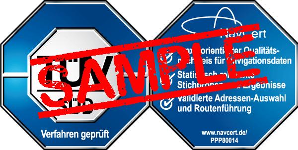 navcert pruefzeichen ppp80014