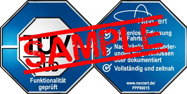 navcert pruefzeichen ppp80015