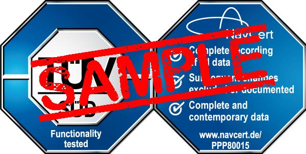 navcert certification mark ppp80015