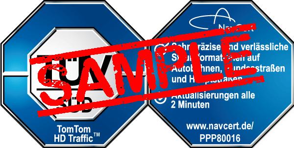 navcert pruefzeichen ppp80016