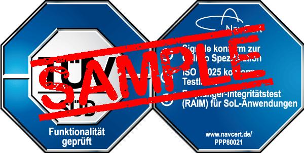 navcert pruefzeichen ppp80021