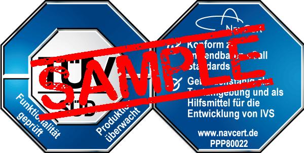 navcert pruefzeichen ppp80022