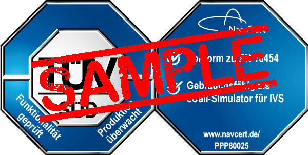 navcert pruefzeichen ppp80025 ivs