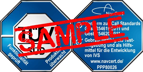navcert pruefzeichen ppp80026