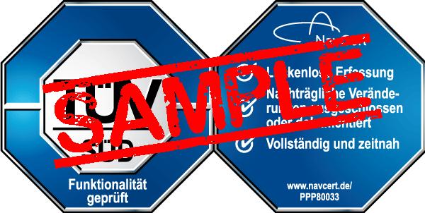 navcert pruefzeichen ppp80033