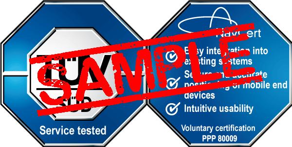 navcert certification mark ppp80009